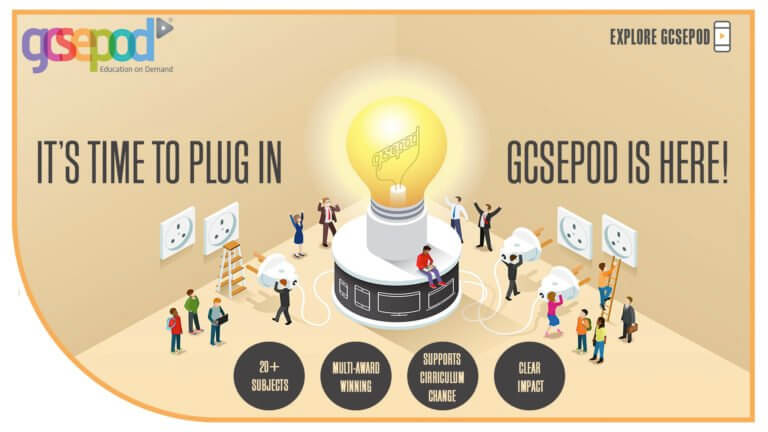 GCSE Pod: A new learning resource for Key Stage 4 Students