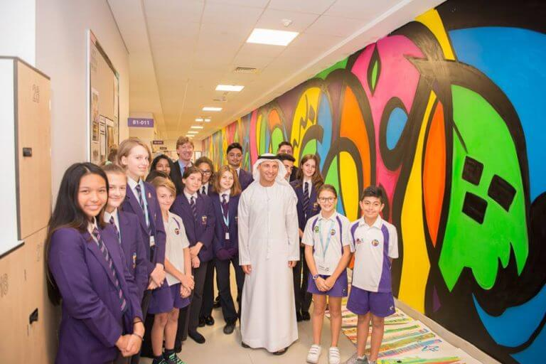 Dr. Abdulla Al Karam, Chairman of the Board of Directors and Director General of KHDA visited Sunmarke
