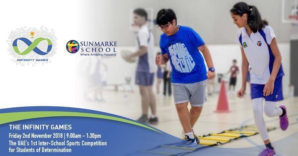 """THE INFINITY GAMES"" – The UAE's first inter-school sports competition for students of determination"