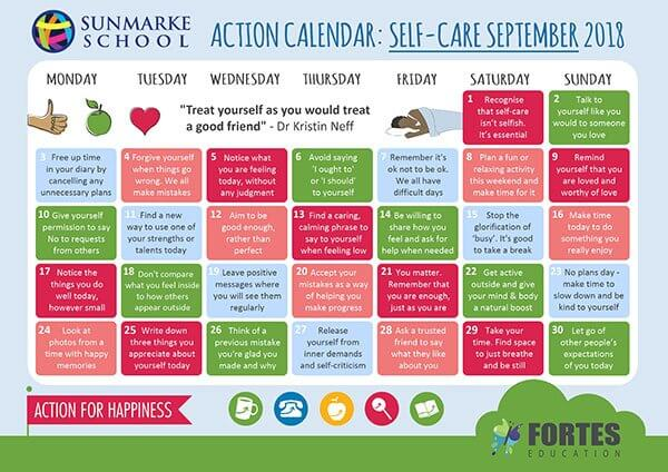 Self-Care September – Your guide to looking after YOU this month!