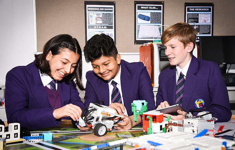 STEAM & Robotics Concentration